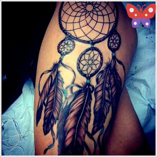 1Dreamcatcher-tattoo