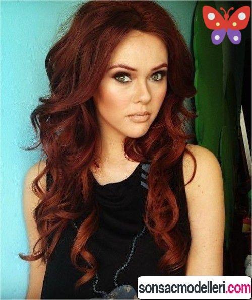 Dalgalı saç rengi