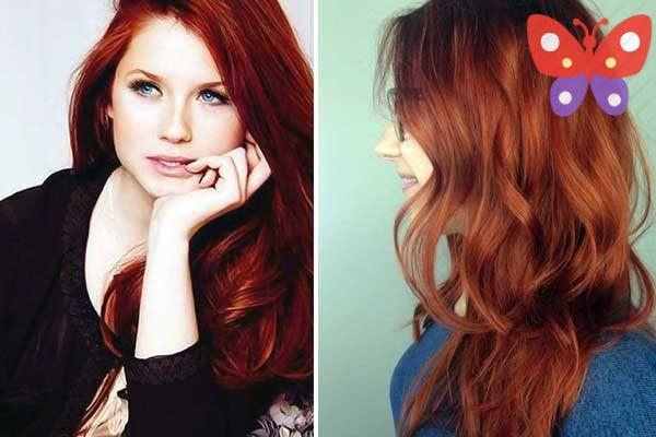 Sıcak Kızıl Saç Rengi Ve Sıcak Kızıl Saç Modelleri Pelinayın özel